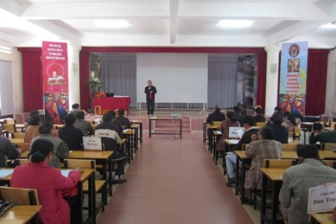 Caritas Dalat tong ket 2014